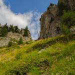 Scendendo dal Mont Chétif