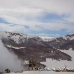 Letto di nuvole dietro la Sella Dolcedorme