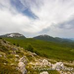Monte Pollino e Serra del Prete dalla cresta NO di Serra di Crispo
