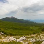 Panorama dalla Cresta NO di Serra di Crispo