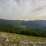 Sguardo verso la valle del Raganello