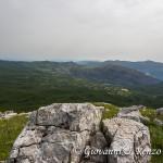 La valle del Raganello dalla Manfriana Orientale