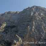 Le pareti della Timpa di San Lorenzo