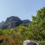 Timpa di Porace e Timpa di Cassano dal Belvedere di Barile