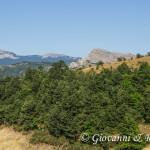 Serra delle Ciavole e Serra di Crispo alle spalle della Falconara