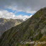 L'esposto sentiero da Passo Ignaga alla valle Adamè