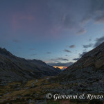 Tramonto in Val Salarno