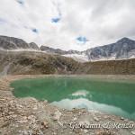 Monte Adamello alle spalle del lago Venerocolo