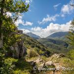 Monte Pollino e Serra del Prete accarezzati dalle nuvole
