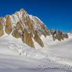 Glacier du Géant e la Vallée Blanche