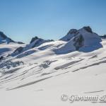 I seracchi del ghiacciaio del Gigante