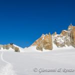 Rifugio des Cosmiques e l'Aiguille du Midi
