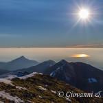 Il sole si specchia sul golfo di Sibari