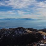 Panorama dalla vetta di Monte Caramolo