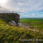Il Castello del Garagnone domina pianori sconfinati