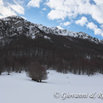 Il versante occidentale di Monte Pollino