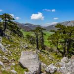 Cavalcando la cresta Nord di Serra delle Ciavole