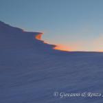 Vento impetuoso al Col de la Brenva