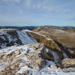 I dirupi orientali del Monte Meta