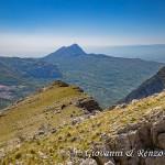 Il Monte Sellaro e la costa Ionica