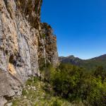 La cengia della scala di Sant'Anna