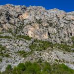 La cengia della scala di Sant'Anna e la Lamia