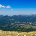 Panorama dalla cima di Monte Angelo