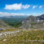 La Valle Orsara dalla cima del Monte Angelo