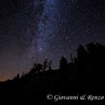 Serra delle Ciavole sotto le stelle
