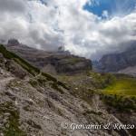 Verso il rifugio Maria e Alberto Ai Brentei