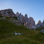 Panorama a 360° dalla Val Brenta Alta