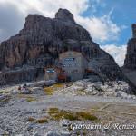 Il Rifugio Pedrotti e la Cima di Brenta Bassa