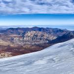 La valle del Raganello e lo Ionio dalla cima del Dolcedorme
