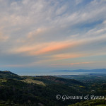Vista sul Golfo di Corigliano scendendo da Cerchiara di Calabria
