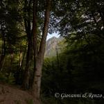Spiando il Monte Faghitello