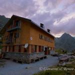 Il rifugio Genova Figari