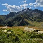 Il Monte Gelas dal Vallone di Fenestrelle