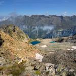 Lago bianco e lago blu del Gelàs