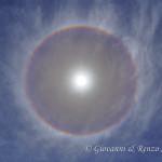 Il sole nell'arcobaleno